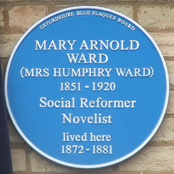 Plaque to Mrs Ward